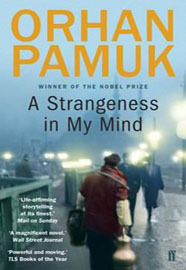 Kitab A Strangeness in My Mind | Orhan Pamuk