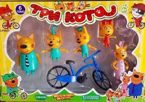 Семья с велосипедом