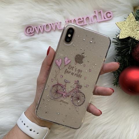 Чехол iPhone XS Max Magic Bicycle /crystal/