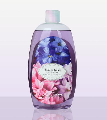 Liv delano Fleurs de France Пена для ванн Роскошь гиацинта 730г