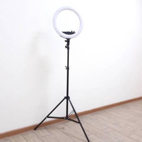 Аренда кольцевой лампы LED RING RC240 (35 см)