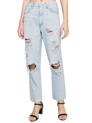 GJN010132 джинсы женские, айс