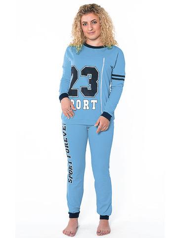 cce88877ee79 TK419-1 костюм женский, голубой / Товары оптом - ТопОпт.ру