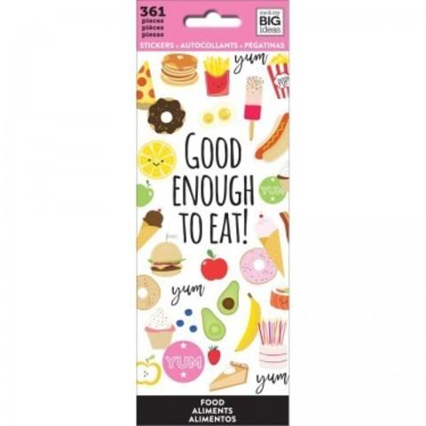 Блокнот со стикерами-MAMBI Stickers FOOD -361 шт