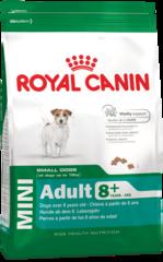 Royal Canin Mini Adult 8+ для собак мелких пород старше 8 лет
