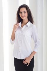Лёля. Классическая рубашка. Белый