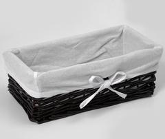 Плетеная корзина для ванной WasserKRAFT Lossa WB-120-L