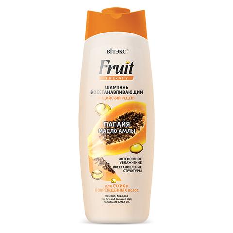 Витэкс Fruit Therapy Шампунь восстанавливающий для сухих и поврежденных волос 515 мл