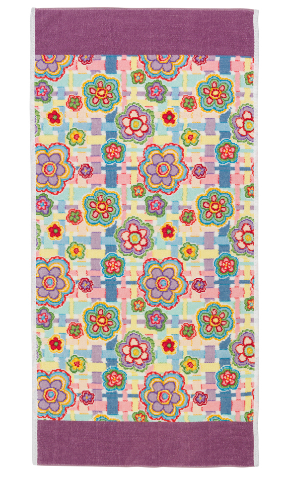Полотенце 37x50 Feiler Happy Flower 55 lavendel