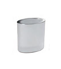 Стакан для зубных щеток Windisch 91308MCR Oval Frozen crystal glass