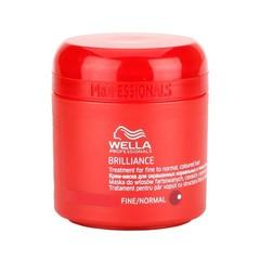 WELLA brilliance line крем-маска для окрашенных жестких волос 150мл.