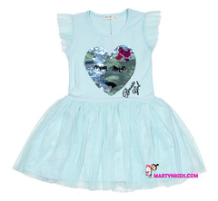 1447 платье Сердце