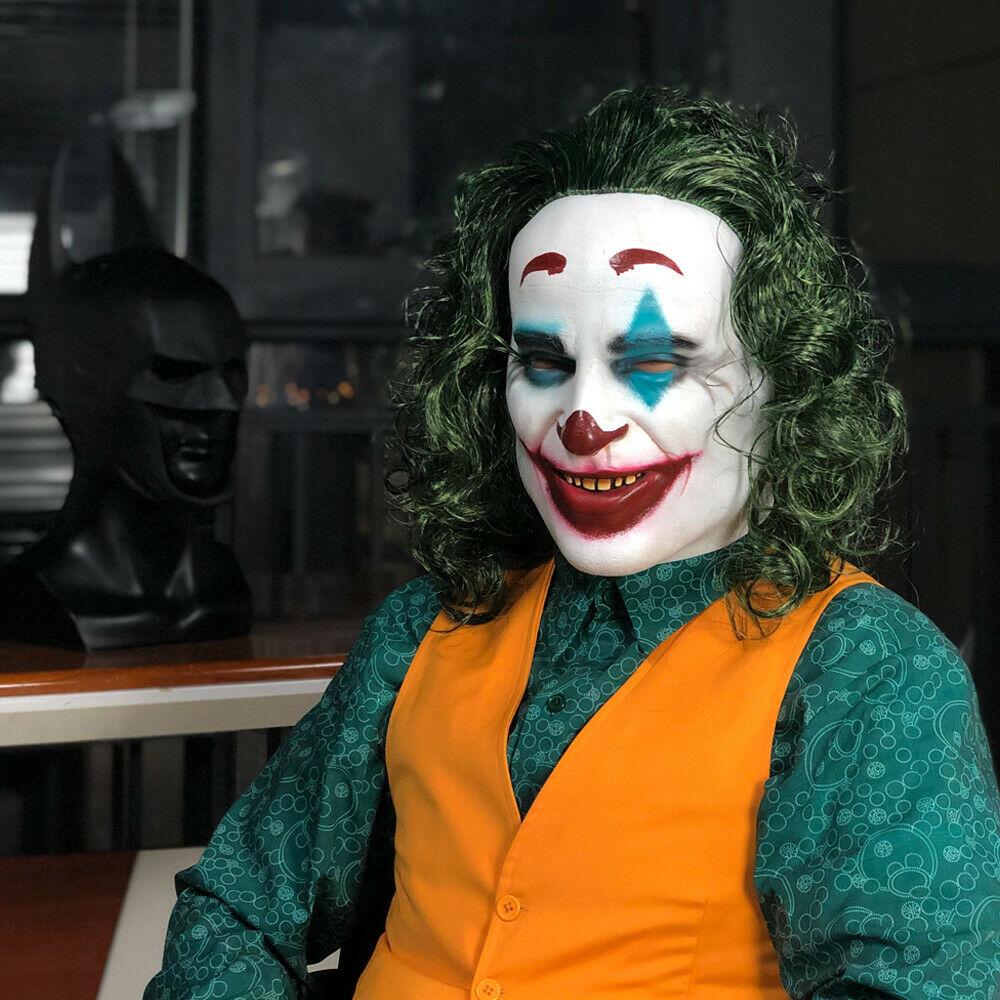 Джокер 2019 маска латексная
