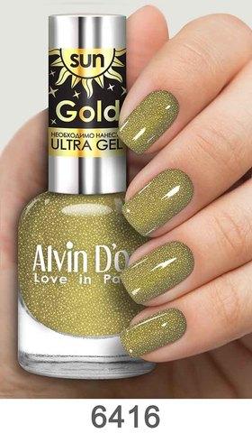 Alvin D`or Лак д/ногтей SUN GOLD тон 6416