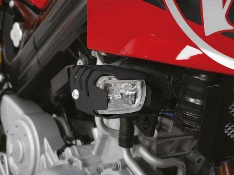 Комплект дополнительного света Micro Flooter BMW F 800 S/R- черный
