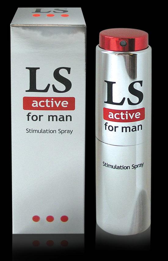 LOVESPRAY ACTIVE спрей для мужчин стимулятор  18мл.