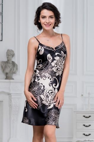 Сорочка женская MIA-AMORE Da Vinci Да Винчи 8440 черная