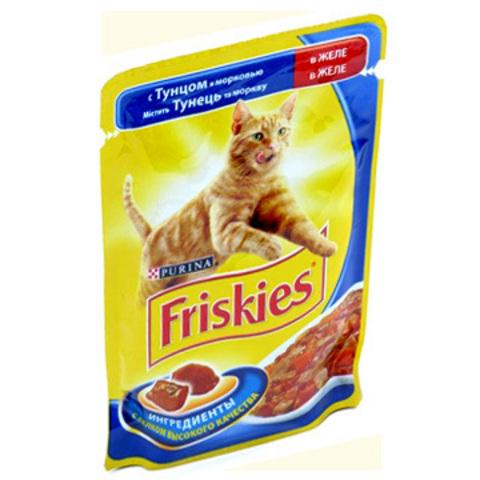 Friskies Кусочки в Подливе с ягненком для кошек 85 г