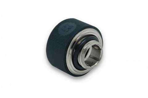 EK-HDC Fitting 16mm G1/4 - Elox Black
