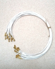 Провод термостойкий для электроплит фастон-фастон, 75 см