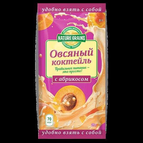 Овсяный коктейль с абрикосом, Компас Здоровья, 25 г