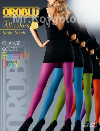 Колготки Oroblu All Colors Slide Touch 50