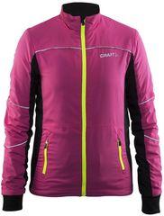 Детская утеплённая лыжная куртка Craft Cruise pink 2017
