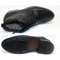 Модные зимние ботинки мужские Ikoc 2678-1 S