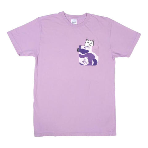 Футболка RIPNDIP Lord Nermal Camo Pocket (Purple Camo)