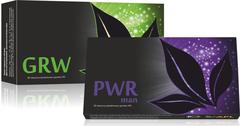 APL. Набор: аккумулированные драже APLGO GRW+PWR man для комплексного оздоровления мужского организма
