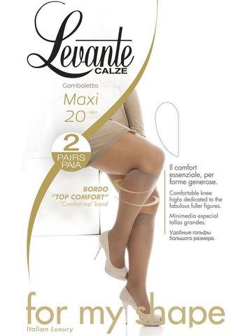 Гольфы Maxi 20 (2 пары) Levante