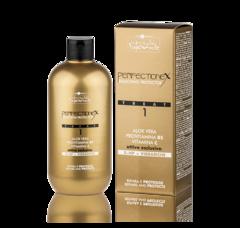 HAIR COMPANY Inimitable Blonde PERFECTIONEX Фаза 1 - защита и восстановление при обесцвечивании и других химических процедурах 500мл