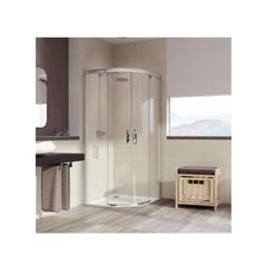 Душевой уголок с раздвижными дверьми 90х120х190 см Huppe Aura elegance 402415.087.322 фото