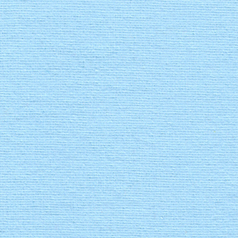 Простыня на резинке 160x200 Сaleffi Raso Tinta Unito с бордюром сатин голубая