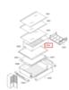 Ящик для овощей для холодильников Bosch (Бош) - 774061