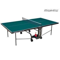 Теннисный стол DONIC INDOOR ROLLER 600 GREEN с сеткой
