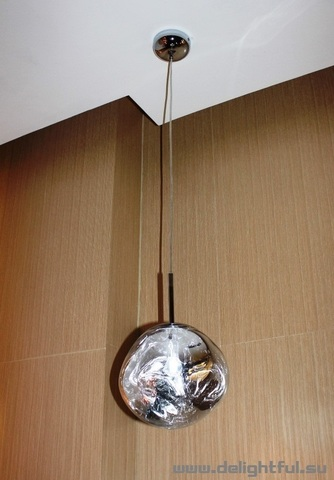 replica Tom Dixon Melt ( silver ) 48 cm