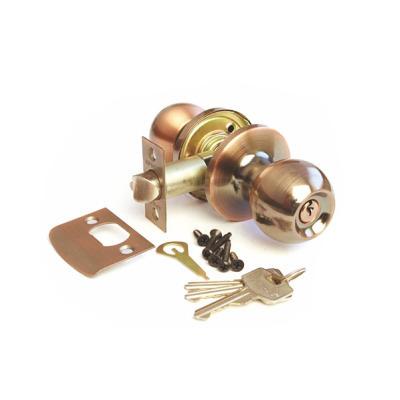 Ручка-защелка, Arsenal 607, с ключом, AС, Медь
