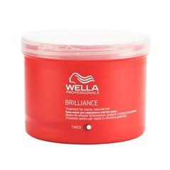 WELLA brilliance line маска для окрашенных жестких волос 500мл.