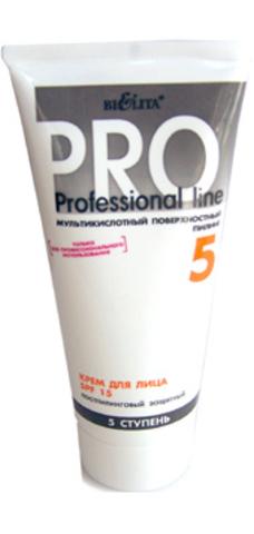 Крем для лица SPF 15 постпилинговый защитный 200 мл (мультикислотный пилинг) | Белорусская косметика