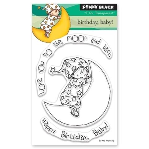 Набор силиконовых штампов  - birthday baby
