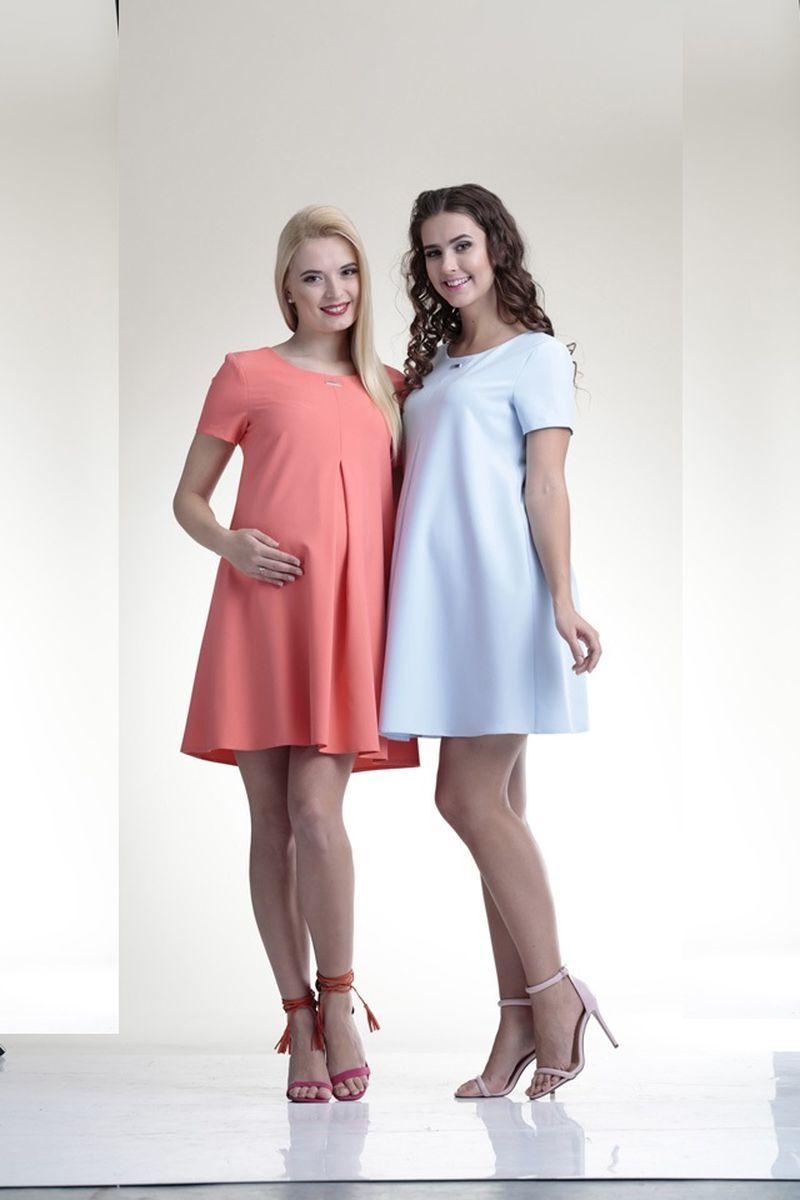 Платье 06149 розовый