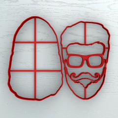Бородач в очках