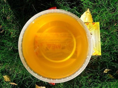 Мёд Белая акация с травами 1кг