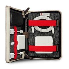 Сумка Twelve South BookBook CaddySack для мобильных устройств и аксессуаров, кожа натур, коричневый