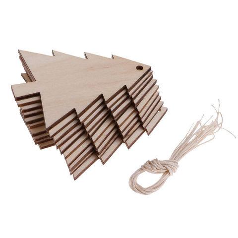 056-9909 Набор (6шт.) деревянных подвесок