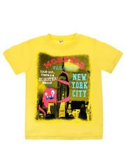 MK002F-16 футболка детская, желтая
