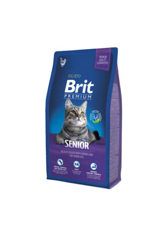 Brit Premium Cat Senior 8 kg