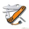 Нож перочинный Victorinox Hunter XT One Hand 111мм 6 функций с фикс оранжево-черный (0.8341.MC9) нож victorinox hunter xs one hand с фиксатором 5 функций 111мм