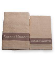Набор полотенец 2 шт Cesare Paciotti Downtown кремовый